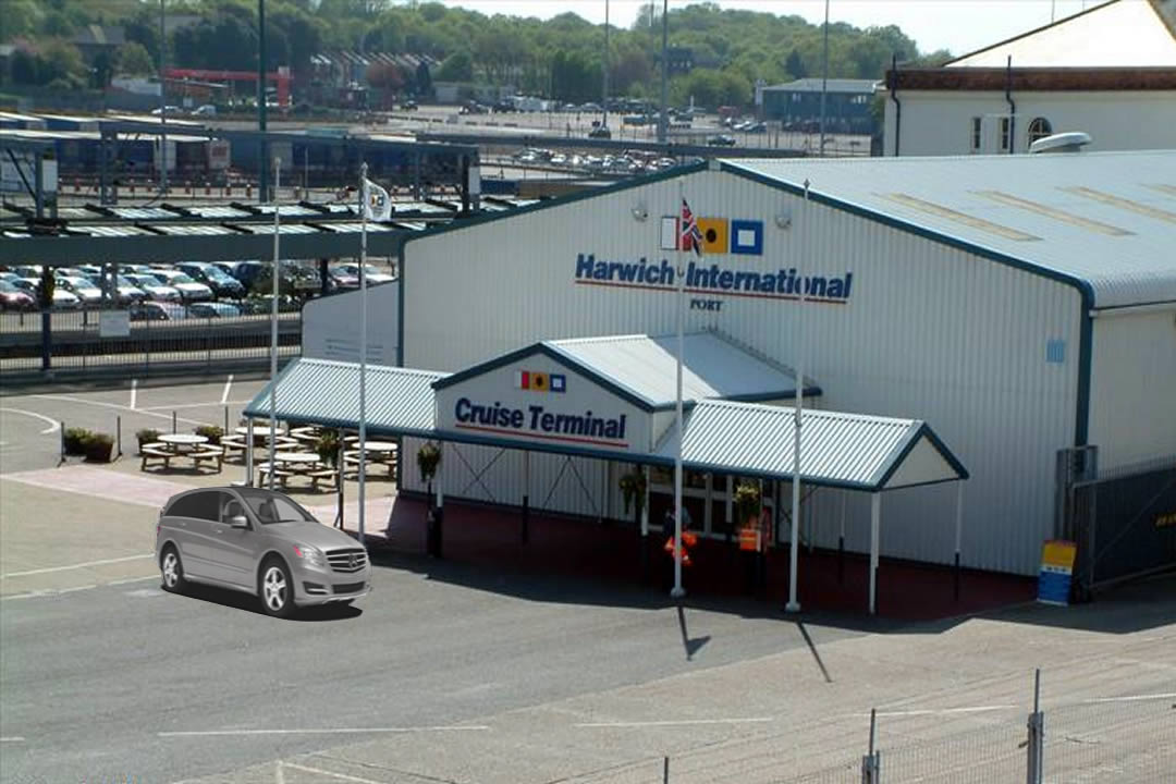 Harwich international cruise terminal transfers.