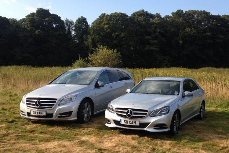 Wedding car hire in Suffolk & Essex.