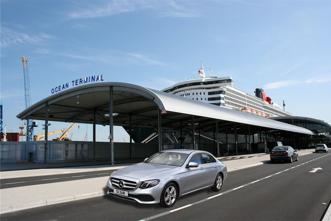 Cruise ship terminal transfers to Harwich and Southampton.