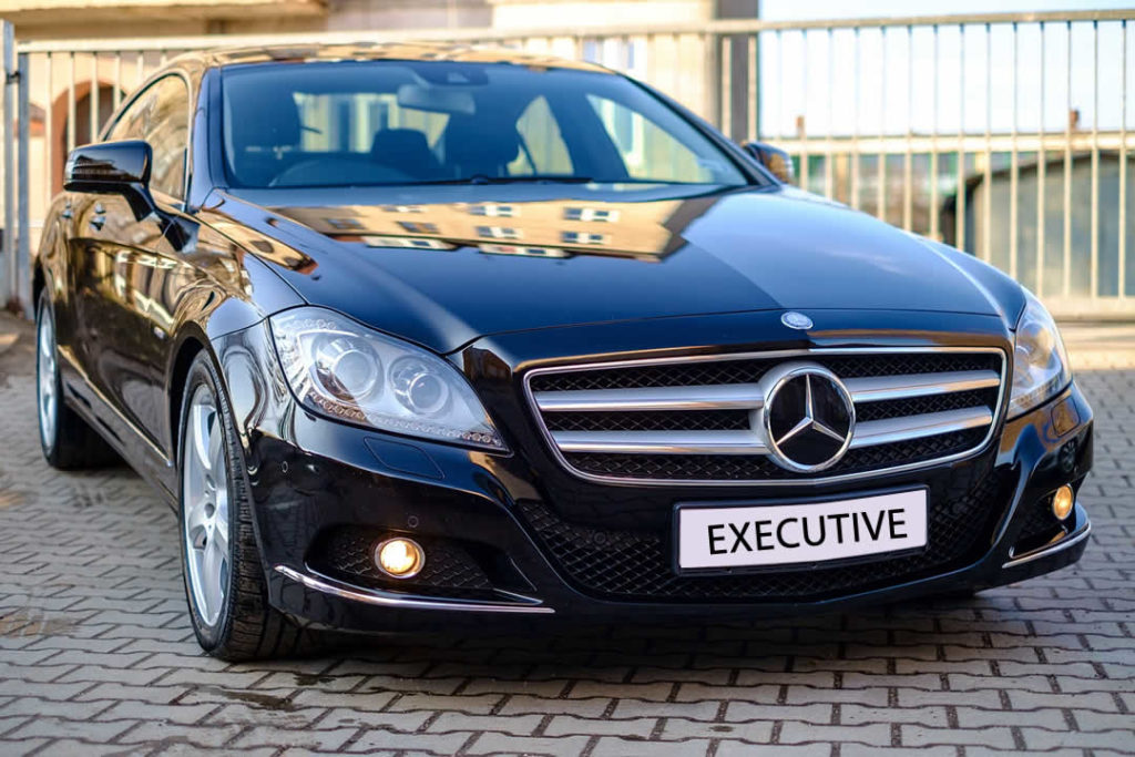 Executive chauffeur cars Colchester to London.
